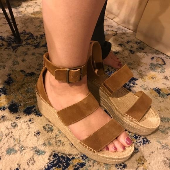 Soludos Palma Platform Sandal Leather